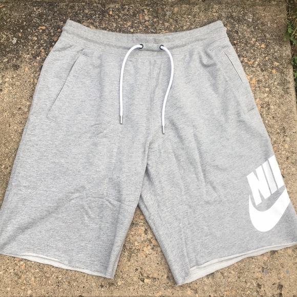 Nike Sportswear Light Grey Shorts Men's M